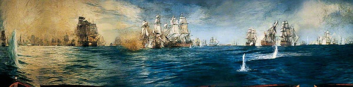 Image result for the battle of trafalgar
