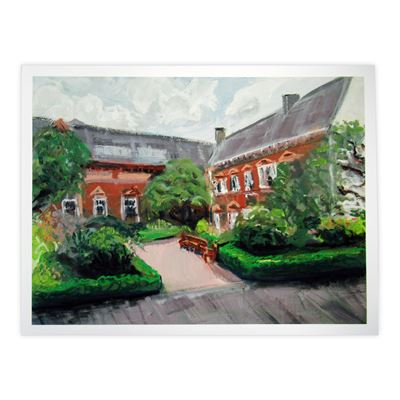Martin Evans 'Tullie House' limited edition print