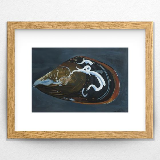 Mussel Series No. 4 - 20mm Frame