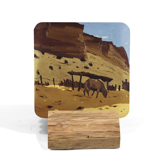 Kyffin Williams 'Horse at Lle Cul, Patagonia' coaster