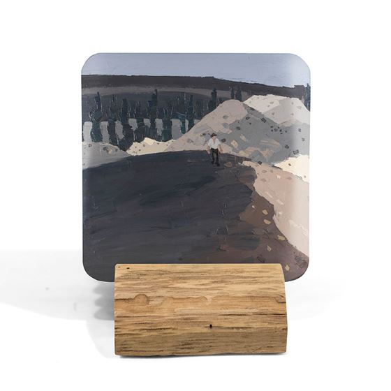 Kyffin Williams 'New Road to the Valley' coaster