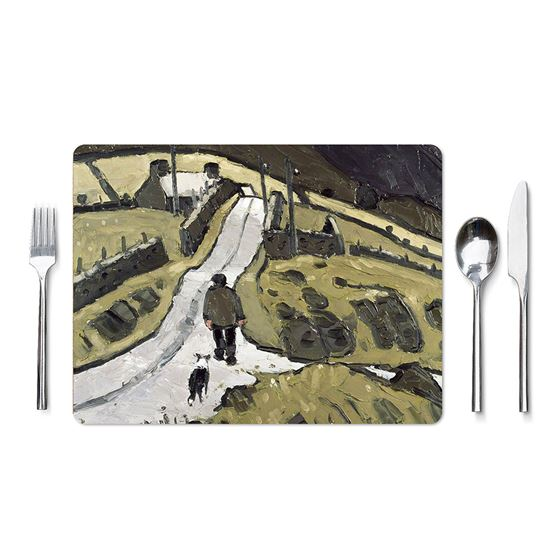 Kyffin Williams 'Farmer with Following Dog' placemat