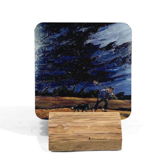 Kyffin Williams 'Henry Roberts, Bryngwyn, Patagonia' coaster