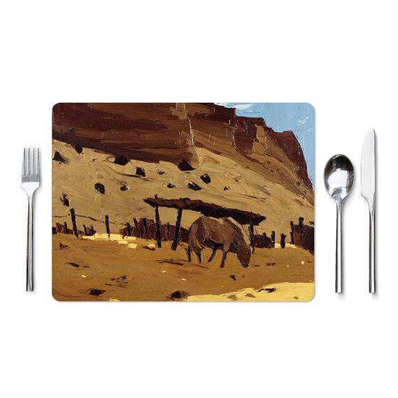 Kyffin Williams `Horse at Lle Cul, Patagonia` placemat