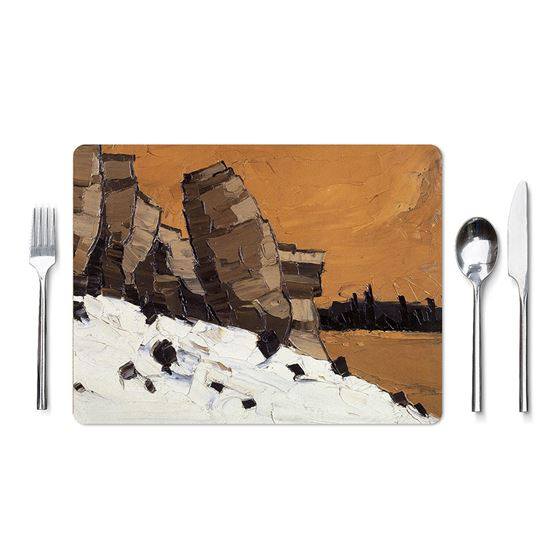 Kyffin Williams 'Lle Cul, Patagonia' placemat