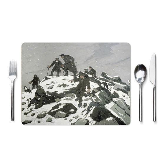 Kyffin Williams 'The Gathering, Farmers on Glyder Fach' placemat