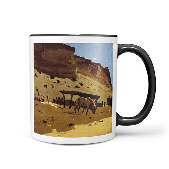 Kyffin Williams 'Horse at Lle Cul, Patagonia' mug