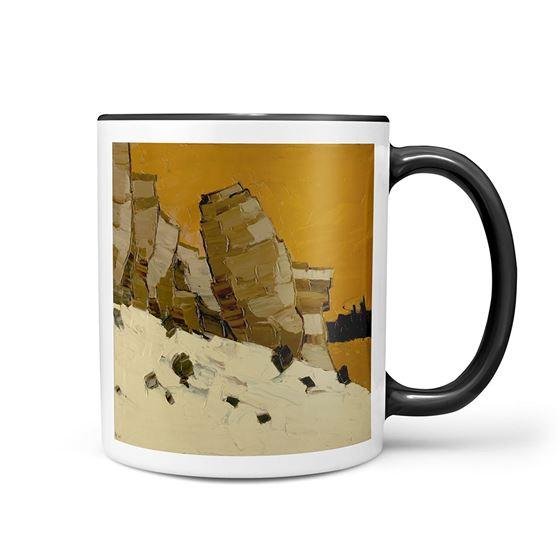 Kyffin Williams 'Lle Cul, Patagonia' mug