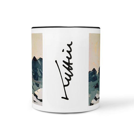 Kyffin Williams 'Mountain Landscape with High Sun' mug