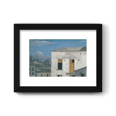 Buildings in Naples - Curator`s Choice framed print