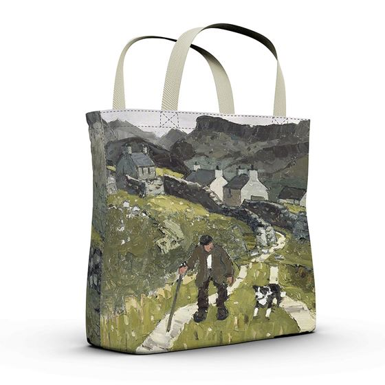 Kyffin Williams 'The Way to the Cottages' shopper