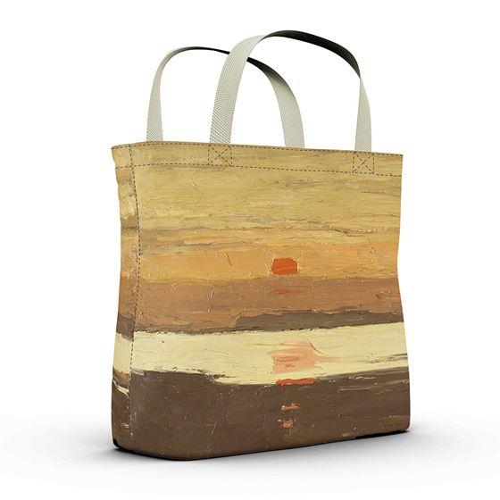 Kyffin Williams 'Coastal Sunset' shopper