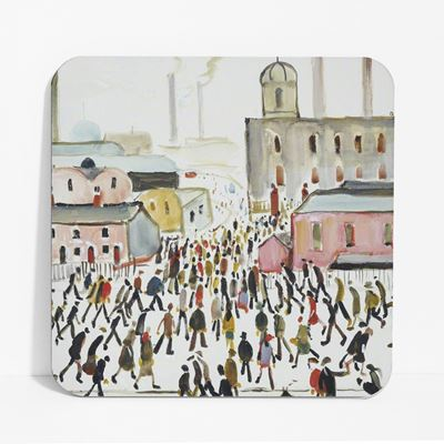 L. S. Lowry 'Going to Work' (1959) coaster