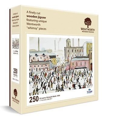 L. S. Lowry 'Going to Work' (1959) wooden jigsaw