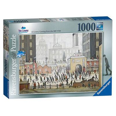 L. S. Lowry 'Coming from the Mill' (1930) 1,000-piece jigsaw