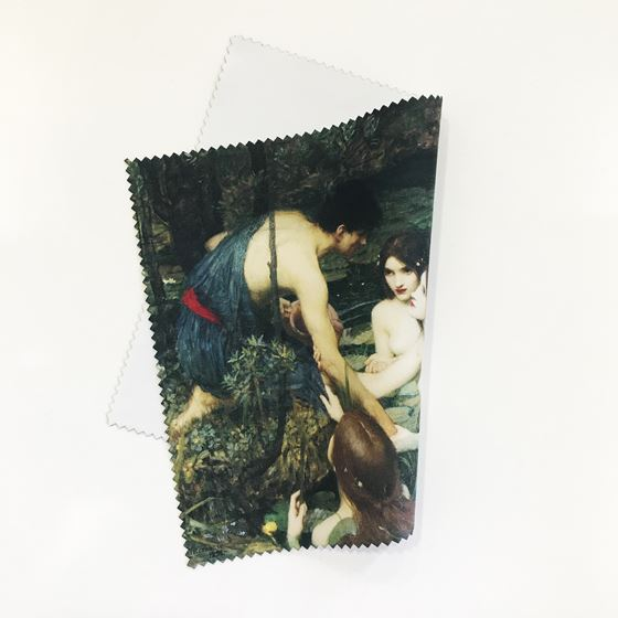 John William Waterhouse 'Hylas and the Nymphs' lens and screen cloth