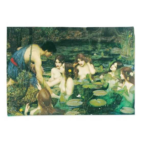 John William Waterhouse 'Hylas and the Nymphs' tea towel