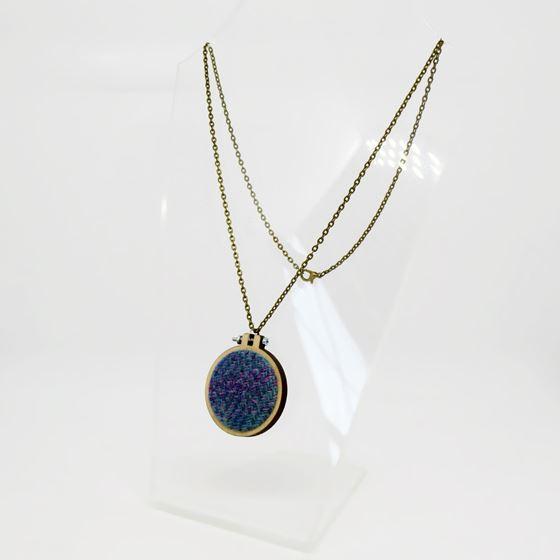 Ailish Henderson tweed necklace