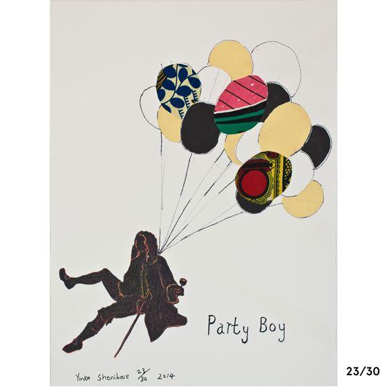 Yinka Shonibare CBE 'Party Boy' limited edition print - 9 of 30