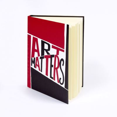 Art Matters hardback notebook