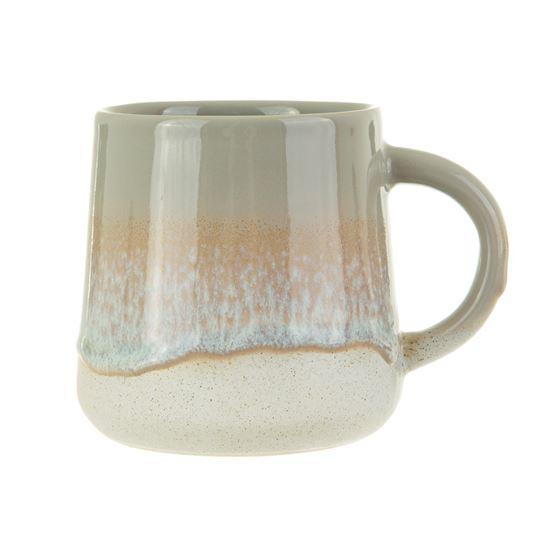 Grey glaze mug