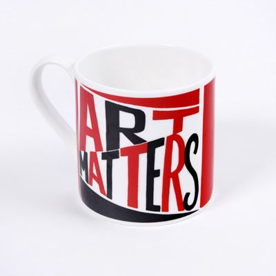 Art Matters bone china mug