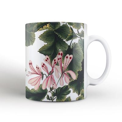 'An Ornamental Geranium' mug
