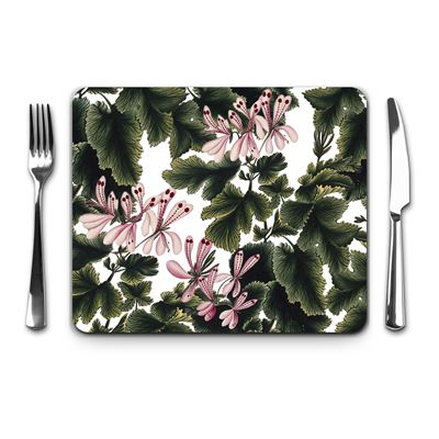 'An Ornamental Geranium' placemat