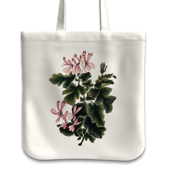 'An Ornamental Geranium' tote bag