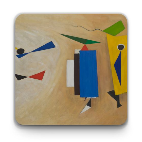 Wilhelmina Barns-Graham 'Summer Painting No. 2' coaster