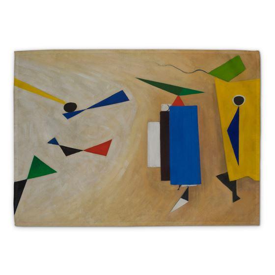 Wilhelmina Barns-Graham 'Summer Painting No. 2' tea towel