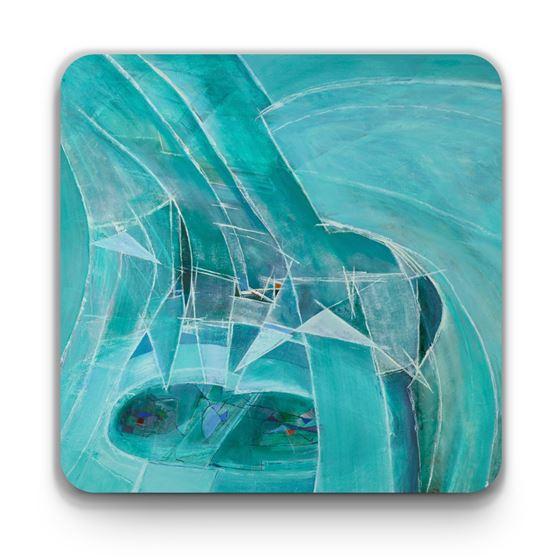 Wilhelmina Barns-Graham 'Variation on a Theme, Splintered Ice No. 1' coaster