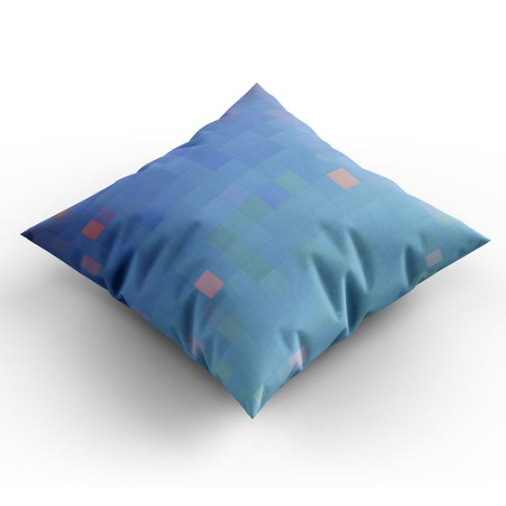 Wilhelmina Barns-Graham 'Warm Up, Cool Down' cushion