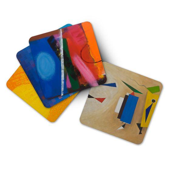 Wilhelmina Barns-Graham coasters – 4-piece set