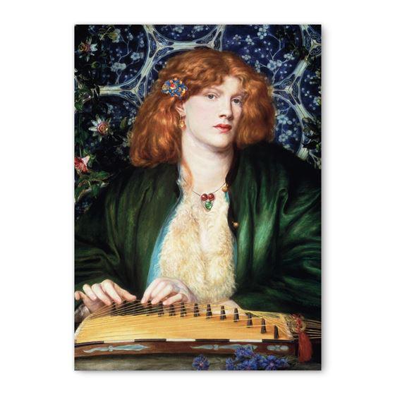 Dante Gabriel Rossetti 'The Blue Bower' greetings card - A6