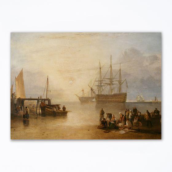 J. M. W. Turner 'The Sun Setting through Vapour' greetings card - A6