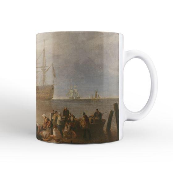 J. M. W. Turner 'The Sun Setting through Vapour' mug and coaster