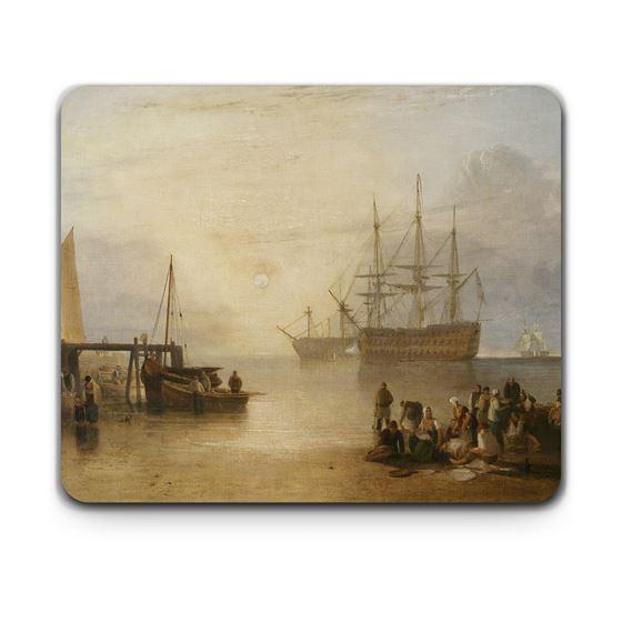 J. M. W. Turner 'The Sun Setting through Vapour' placemats – 4-piece set