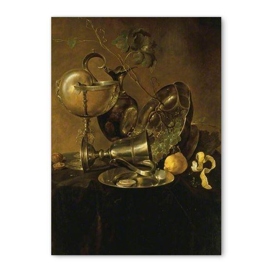 Jan Davidsz. de Heem 'Still Life with a Nautilus Cup' greetings card - A6