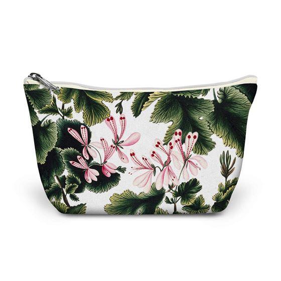 'An Ornamental Geranium' make-up bag
