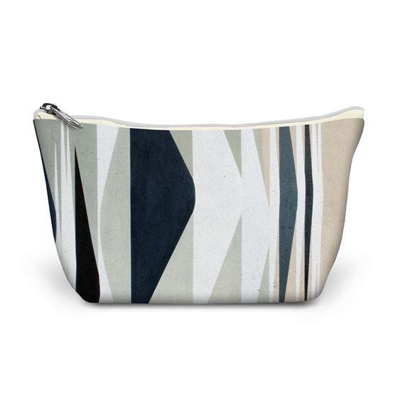 Wilhelmina Barns-Graham 'Expanding Forms Black and White' make-up bag