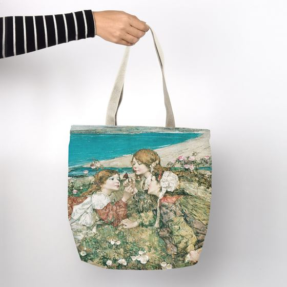 E. A. Hornel 'Seashore Roses' shopper