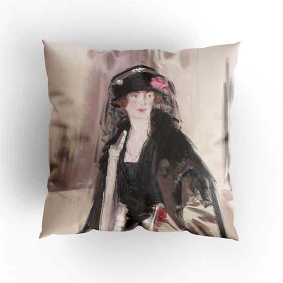 F. C. B. Cadell 'Lady Lavery (1887–1935)' cushion
