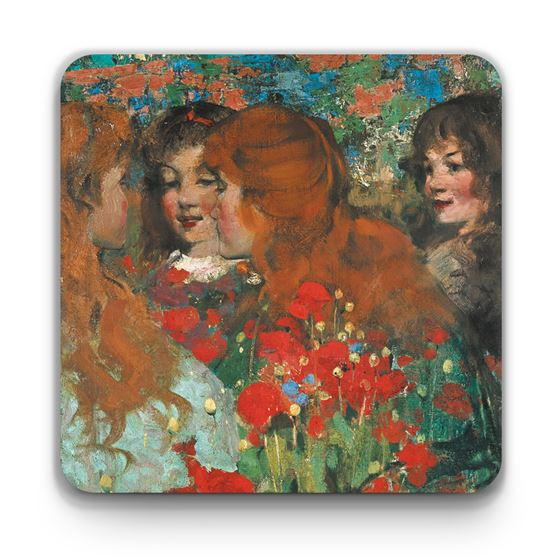 George Henry 'Poppies' coaster