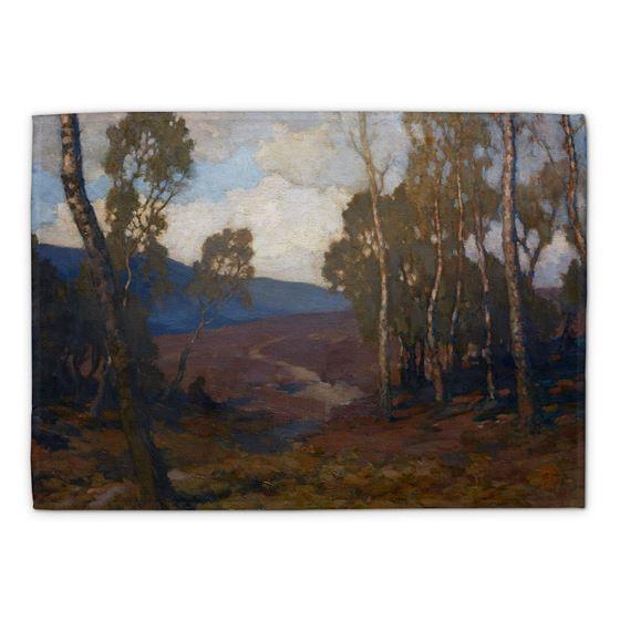 James Cadenhead 'Landscape' tea towel