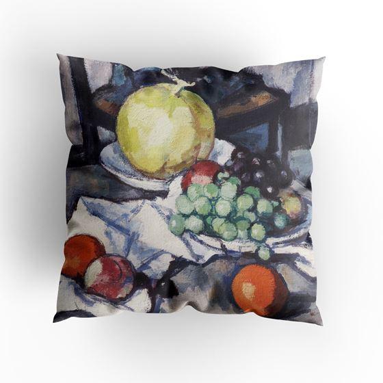 Samuel John Peploe 'Still Life with Melon and Grapes' cushion