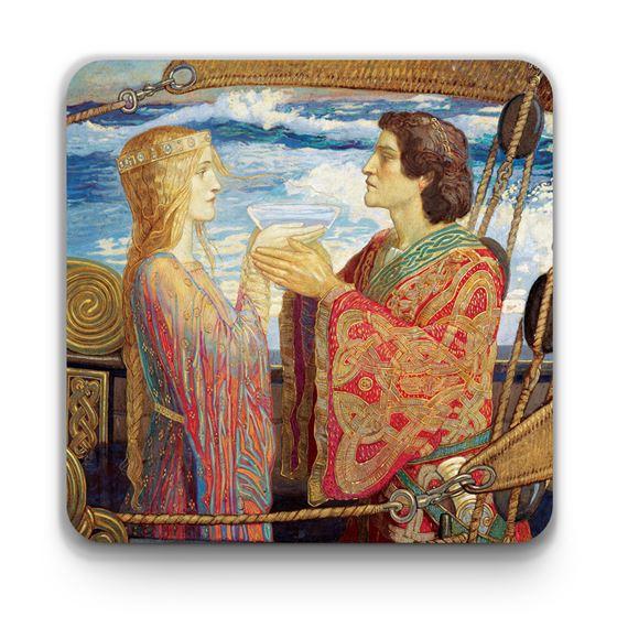 John Duncan 'Tristan and Isolde' coaster