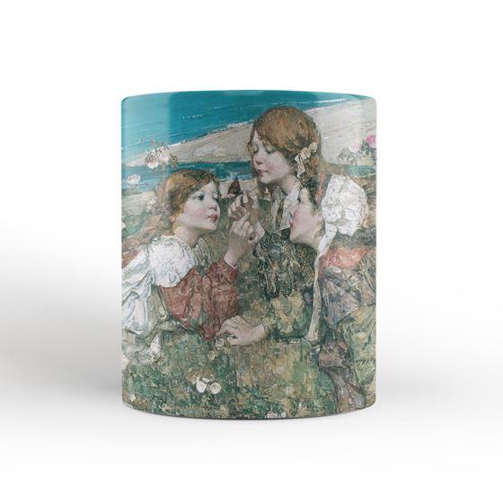 E. A. Hornel 'Seashore Roses' mug