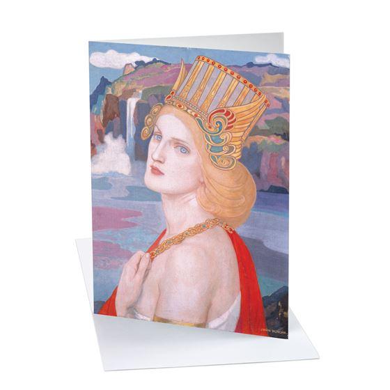 John Duncan 'Aoife' greetings card - A6