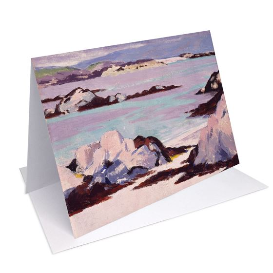 Francis Campbell Boileau Cadell 'Iona' greetings card - A6